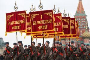 Tái hiện duyệt binh lịch sử 'Kỷ niệm 24 năm Cách mạng tháng 10' năm 1941