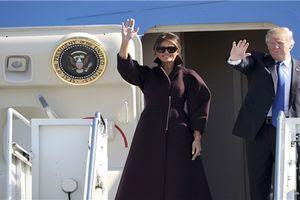 Tổng thống Trump đến Hàn Quốc bàn về vấn đề Triều Tiên và thâm hụt thương mại