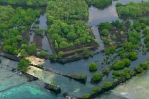 Hòn đảo nổi giữa Thái Bình Dương ẩn chứa thành phố bị lãng quên