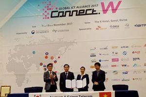 SaigonTel ký hợp tác với Anetcom và HQ Kdigital