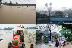 Tang thương miền Trung: Gần 90 người chết trong mưa bão, lũ lụt