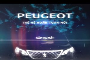 Peugeot 5008 2018 sắp ra mắt, đe dọa Toyota Fortuner