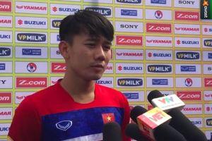 'Tân binh' Minh Vương: 'Tôi hòa nhập nhanh vì triết lý bóng đá của thầy Park Hang Seo rất giống HAGL'