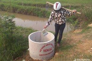Nhân rộng mô hình thu gom bao bì thuốc bảo vệ thực vật ở Anh Sơn