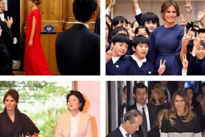 Phong cách thời trang 'biết nói' của Đệ nhất phu nhân Mỹ khi công du châu Á