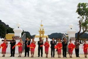 Khánh thành Đài tưởng niệm Liên minh chiến đấu Lào-Việt Nam