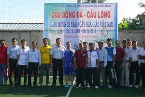 Cà Mau: Hội thao chào mừng ngày Nhà giáo Việt Nam 20/11