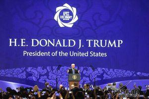 Tổng thống Donald J.Trump nói về Hai Bà Trưng tại CEO Summit 2017