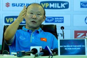 HLV Park Hang Seo đặt quyết tâm sẽ có màn ra mắt thuyết phục