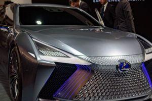 Lexus LS+ Concept lộ diện với thiết kế tuyệt đẹp