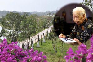 Cận cảnh công viên nghĩa trang nơi yên nghỉ cuối cùng của bà Hoàng Thị Minh Hồ