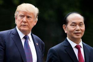 TT Trump tới VN: 'Quan hệ Việt - Mỹ phát triển quá nhanh, vượt bậc'