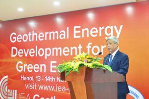 Bộ TNMT tổ chức hội thảo 'Phát triển năng lượng địa nhiệt vì một nền kinh tế xanh'