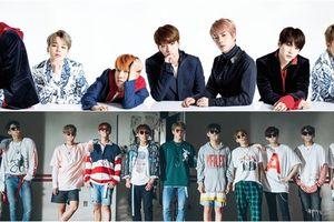 Vừa comeback, Wanna One đã dính nghi án 'nhái' vũ đạo ca khúc trùng tên với BTS