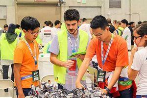 Đội tuyển Việt Nam giành vị trí thứ 10/86 cuộc thi Robotics thế giới