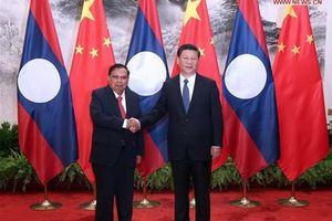 Lào-Trung Quốc đẩy mạnh quan hệ Đối tác hợp tác chiến lược toàn diện