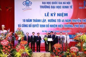 Trường Đại học Kinh tế (ĐHQG Hà Nội) kỷ niệm 10 năm ngày thành lập