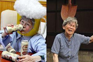 Bộ ảnh nhí nhố 'gây bão' cộng đồng mạng của cụ bà 89 tuổi người Nhật