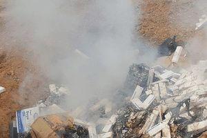 Long An: Tiêu hủy hơn 81 ngàn gói thuốc lá lậu