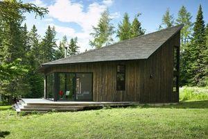 Nhà vườn 2 tầng bằng gỗ siêu chất giữa rừng thông