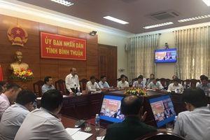 Bình Thuận cấm tàu thuyền ra khơi từ 9 giờ 30 phút ngày 18/11