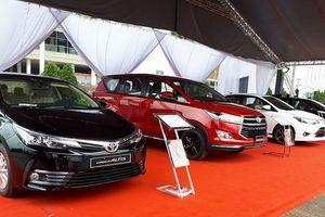 Toyota tổ chức lái thử xe mới tại các đại lý trên toàn quốc