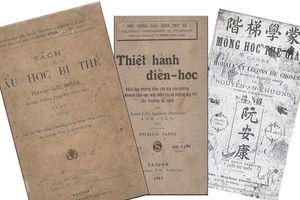 Sách giáo khoa 100 năm trước