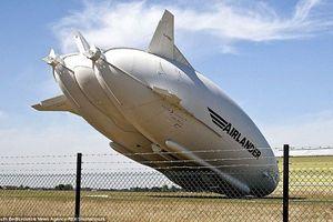 Máy bay lớn nhất thế giới rơi tại Anh