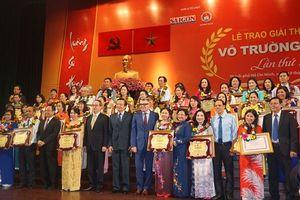 TP Hồ Chí Minh: Vinh danh 40 nhà giáo nhận giải thưởng Võ Trường Toàn