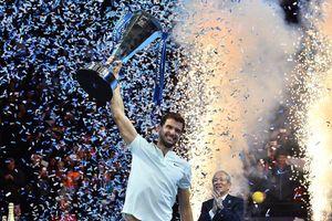 Cận cảnh: Phút đăng quang huy hoàng của Dimitrov tại ATP Finals 2017