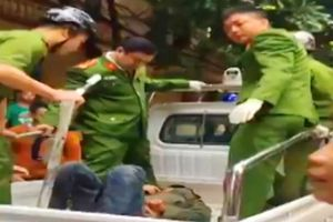 Thanh Hóa: Công an nổ súng khống chế đối tượng ngáo đá