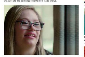 Cô gái bị bệnh Down giành giải cuộc thi hoa hậu Mỹ