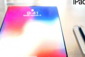 Lộ ảnh iPad X mang âm hưởng iPhone X quá đẹp