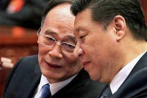 Ông Vương Kỳ Sơn vẫn dự họp Thường vụ Bộ Chính trị Trung Quốc