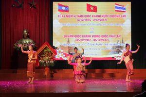 Kỷ niệm ngày Quốc khánh cho lưu học sinh Lào và Thái Lan tại Nghệ An