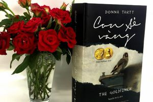 Ra mắt 'Con sẻ vàng' - cuốn tiểu thuyết đoạt Giải Pulitzer 2014