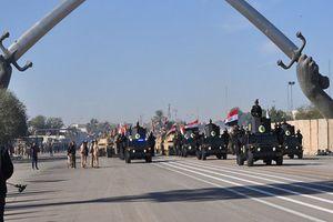Iraq tổ chức diễu binh mừng chiến thắng cuối cùng trước IS