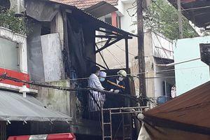 Cháy nhà 3 người tử vong: Nhiều khả năng do sự cố điện từ quạt treo tường