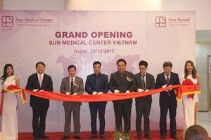 Khai trương trung tâm y tế đẳng cấp quốc tế tại Hà Nội