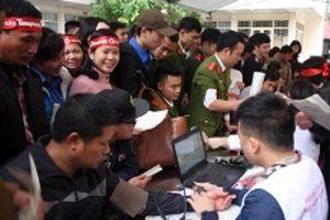'Chủ nhật đỏ' tại Bắc Giang thu được hơn 800 đơn vị máu