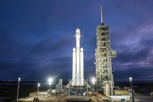 Sắp phóng tên lửa mạnh nhất thế giới đến sao hỏa
