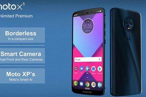 Motorola 2018 sẽ mang dáng dấp của iPhone X