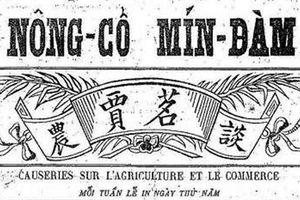 Sài Gòn - cuộc thi văn chương đầu thế kỷ 20