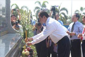 Chủ tịch Nước Trần Đại Quang thăm và chúc Tết Cảnh sát biển Vùng 3