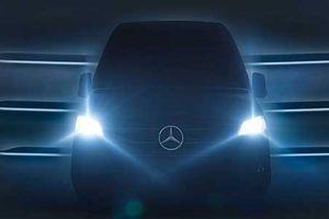 Mercedes-Benz 'nhá hàng' xe van Sprinter 2019 mới