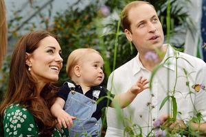 Những hình ảnh siêu dễ thương của tiểu Hoàng tử Anh George