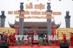 Lễ hội kỷ niệm 591 năm Chiến thắng Xương Giang