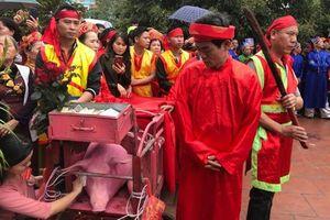 Tránh gây phản cảm, làng Ném Thượng năm nay 'trảm lợn' ở khu vực kín