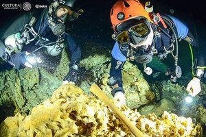 Hang động dài nhất thế giới có dấu tích người Maya cổ