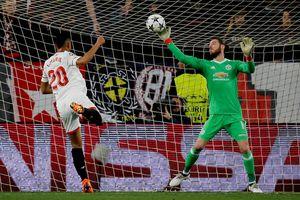De Gea cứu M.U tránh khỏi thất bại trên sân Sevilla